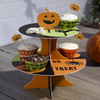 Happy Halloween 2 Tier Cake Stand